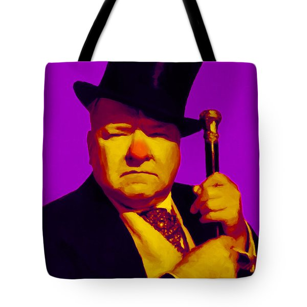 W C Fields 20130217m30 Tote Bag by Wingsdomain Art and Photography