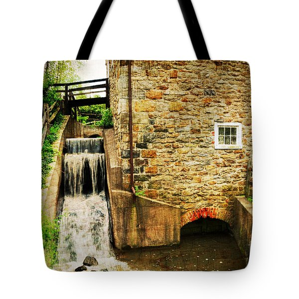 Wagner Grist Mill Tote Bag by Paul Ward