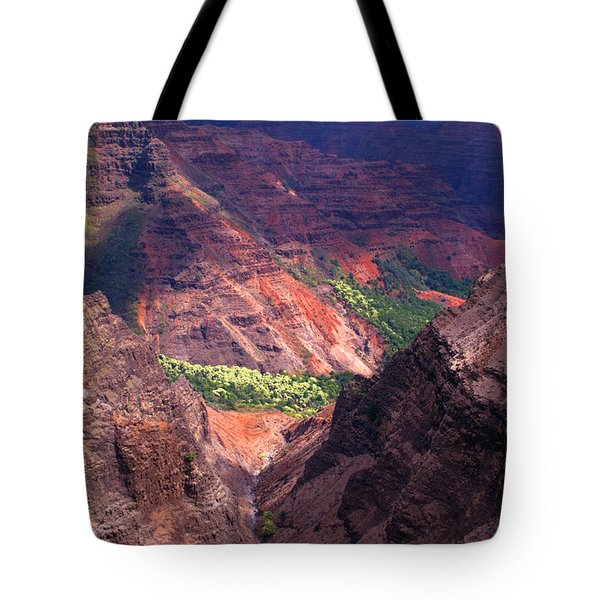 Waimea Canyon 3 Tote Bag by Brian Harig