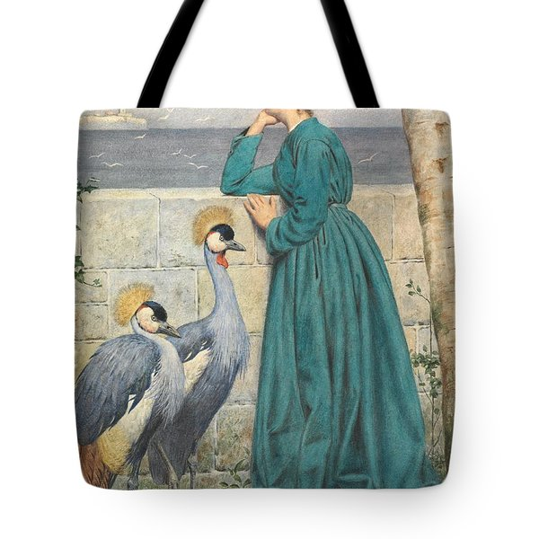 Waiting And Watching Tote Bag by Henry Stacey Marks