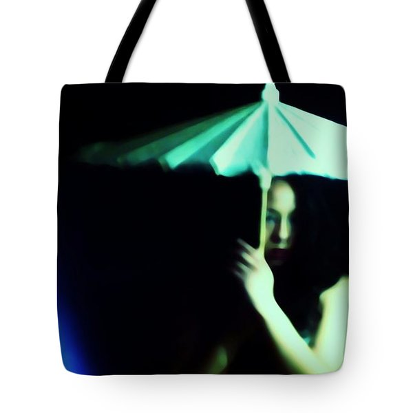 Waiting For A Chance Tote Bag by Jessica Shelton