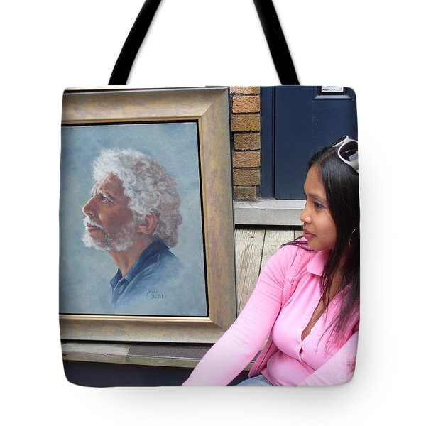 Waiting For A Portrait Session Tote Bag by Lingfai Leung