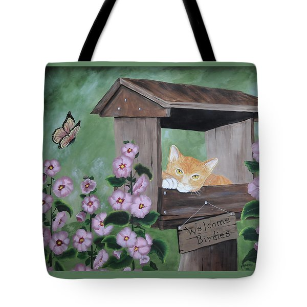 Waiting For Lunch Tote Bag by Kenny Francis