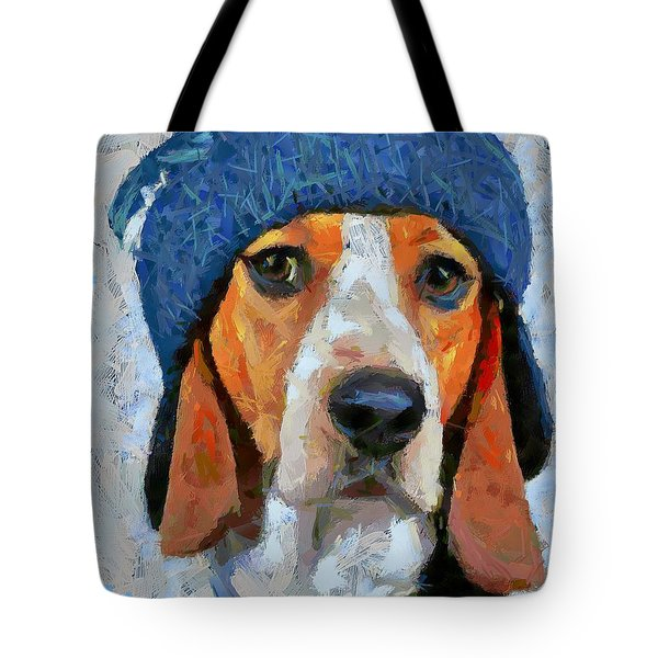 Waiting For Santa Tote Bag by Dragica  Micki Fortuna