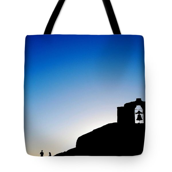 Waiting For The Sun II Tote Bag by Hannes Cmarits