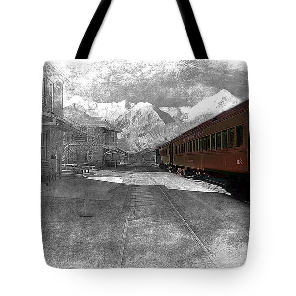 Waiting For The Take Off Tote Bag by Gunter Nezhoda