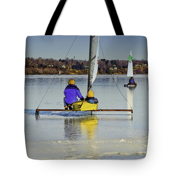 Waiting For Wind Tote Bag by Gary Slawsky