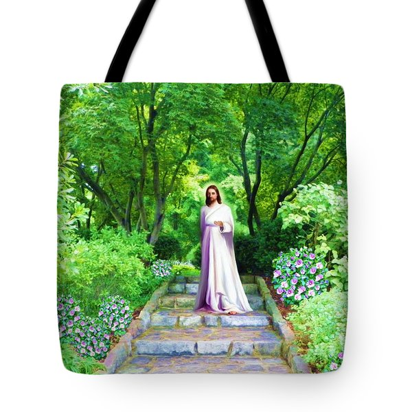 Waiting For You Tote Bag by Susanna  Katherine