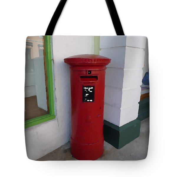 Waiting For Your Letter Tote Bag by Richard Reeve