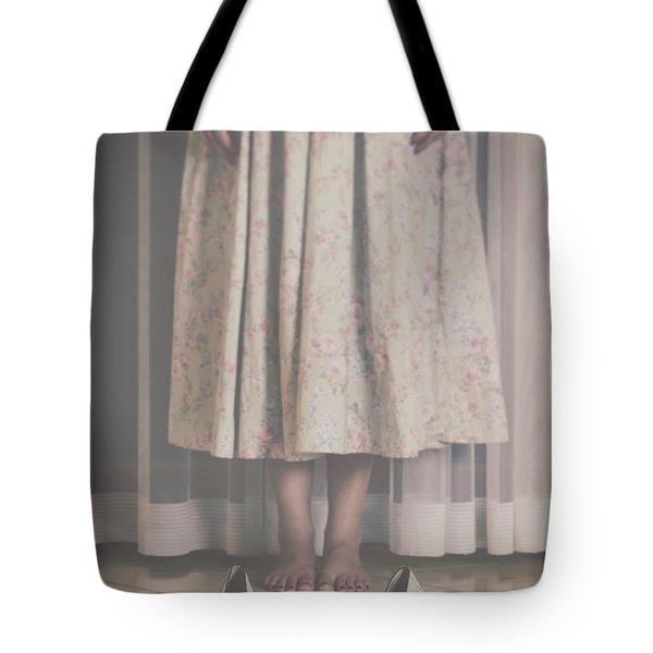 waiting ghost Tote Bag by Joana Kruse