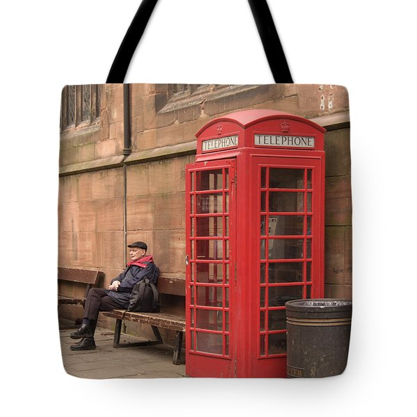 Waiting on a Call Tote Bag by Mike McGlothlen