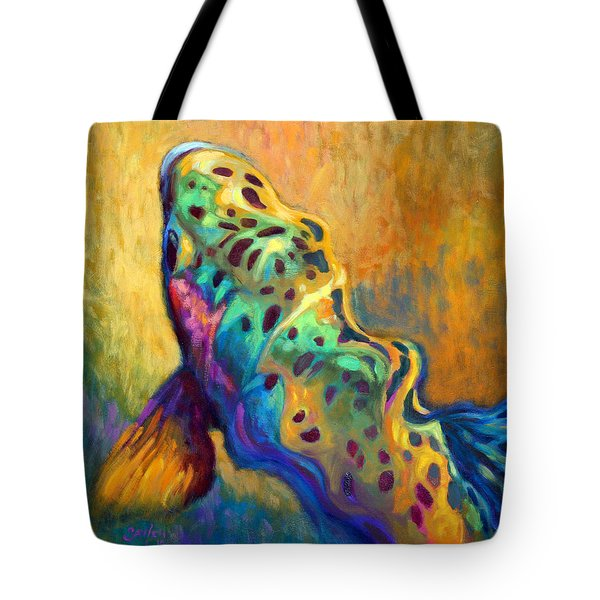 Waiting Patiently Tote Bag by Savlen Art