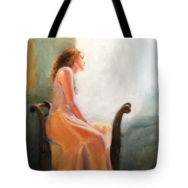 Waiting Tote Bag by Sarah Parks