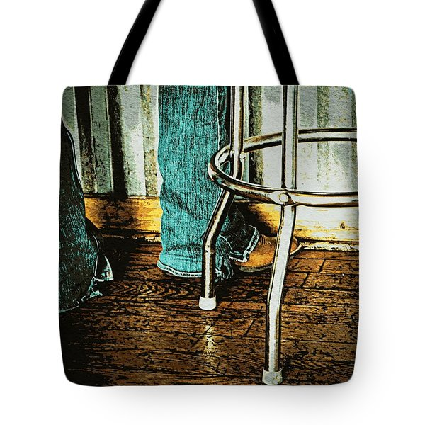 Waiting Waitress  Tote Bag by Chris Berry