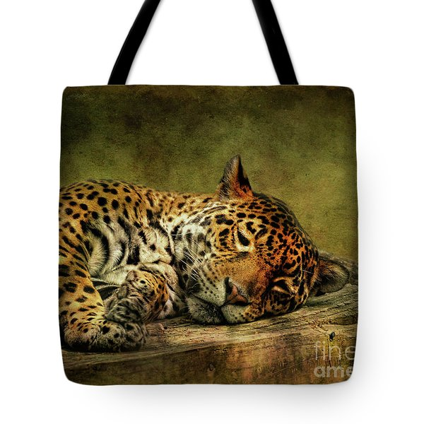 Wake Up Sleepyhead Tote Bag by Lois Bryan