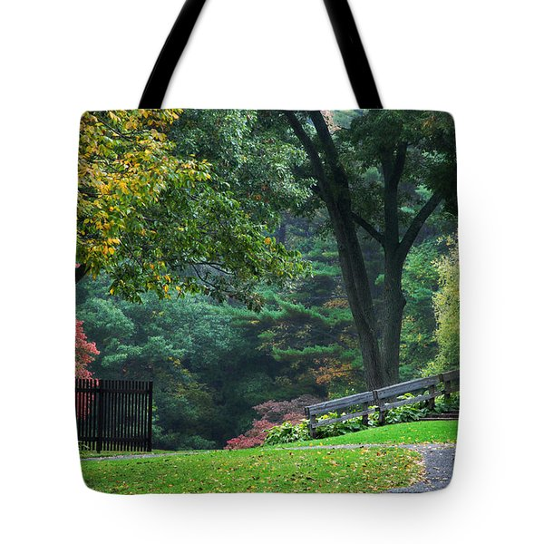 Walk in the Park Tote Bag by Christina Rollo