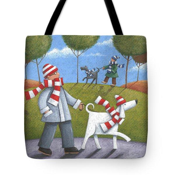 Walk In The Park Tote Bag by Peter Adderley