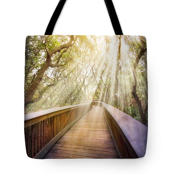 Walk with Me Tote Bag by Debra and Dave Vanderlaan