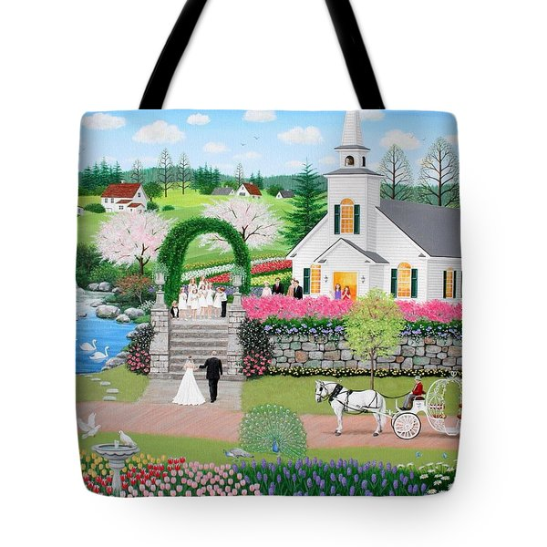 Walk With My Father Tote Bag by Wilfrido Limvalencia