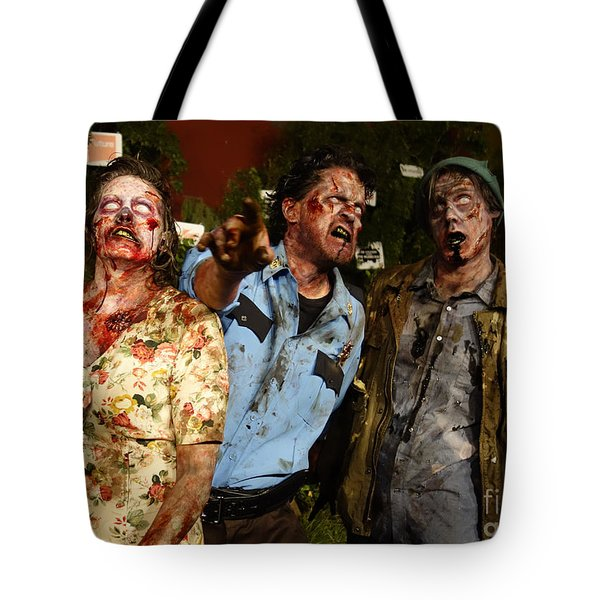 Walking Dead Tote Bag by Nina Prommer