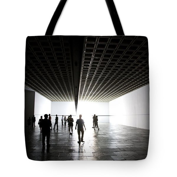 Walking On Light Tote Bag by Joanna Madloch