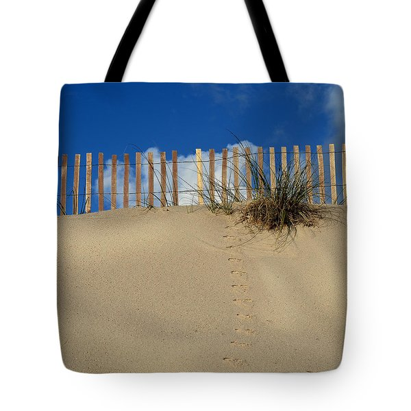 Walking On The Moon Tote Bag by Laura Fasulo