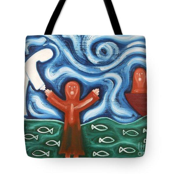 Walking On Water 2 Tote Bag by Patrick J Murphy