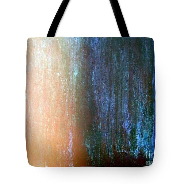 Wall Abstract Tote Bag by Ed Weidman