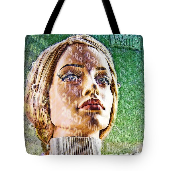 Wall Street Tote Bag by Chuck Staley