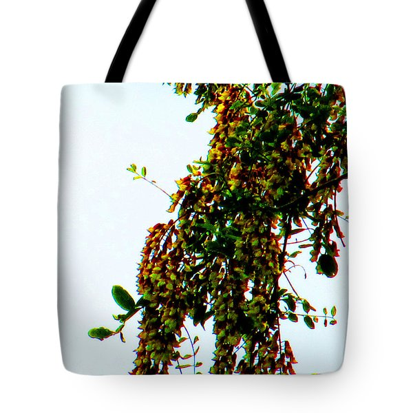 Walnut Blooms Tote Bag by Tina M Wenger