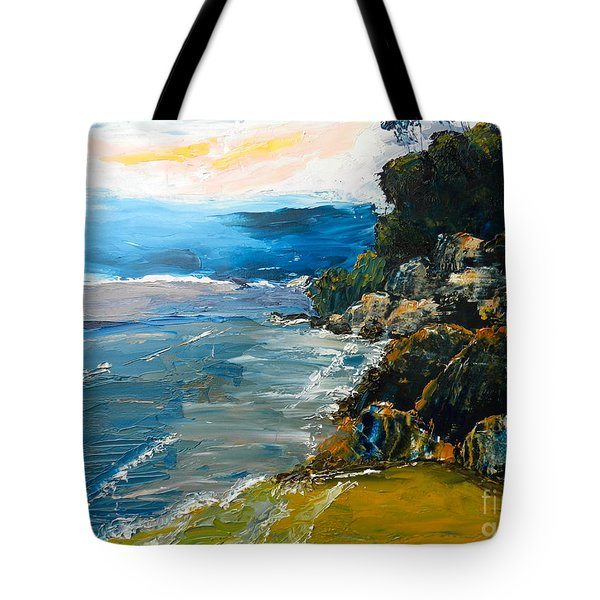 Walomwolla Beach Tote Bag by Pamela  Meredith