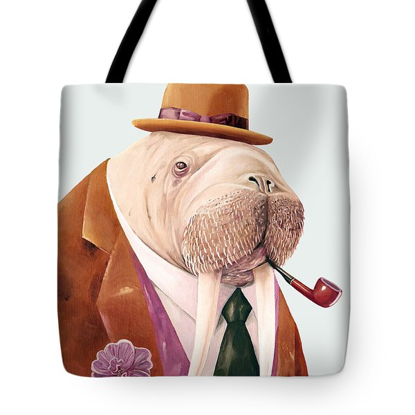 Walrus Tote Bag by Animal Crew