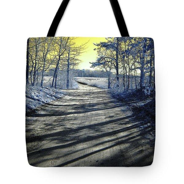 Wandering Alice Is Wondering Tote Bag by Luke Moore