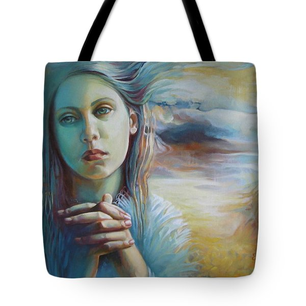 Wandering With Thoughts Tote Bag by Elena Oleniuc