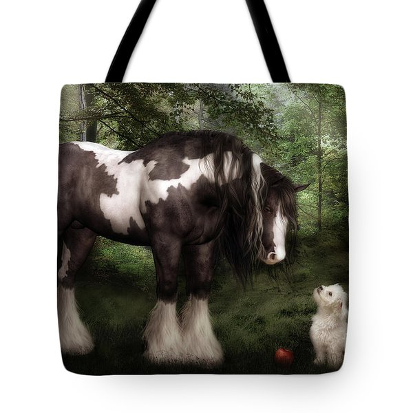 Want to Play Tote Bag by Shanina Conway