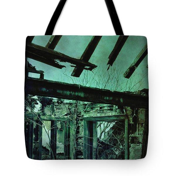 War Torn Tote Bag by Margie Hurwich