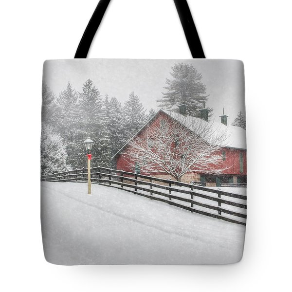 Warmest Holiday Wishes Tote Bag by Lori Deiter