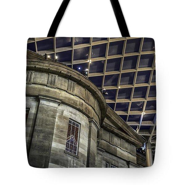 Warped Perceptions Tote Bag by Lynn Palmer