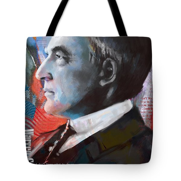 Warren G. Harding Tote Bag by Corporate Art Task Force