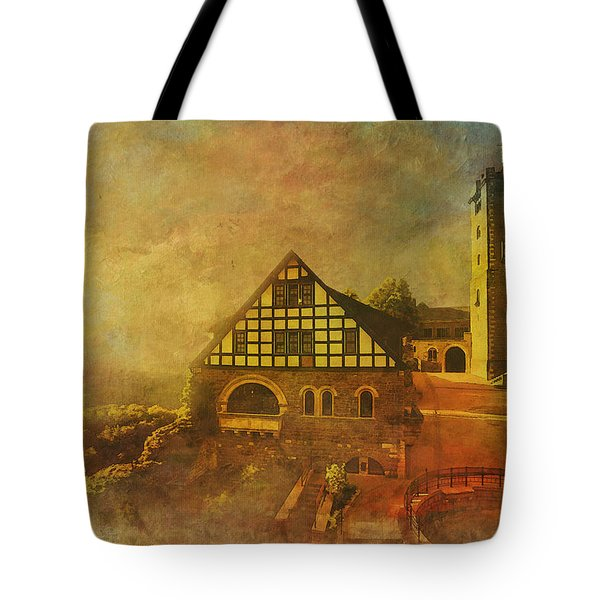Wartburg Castle Tote Bag by Catf
