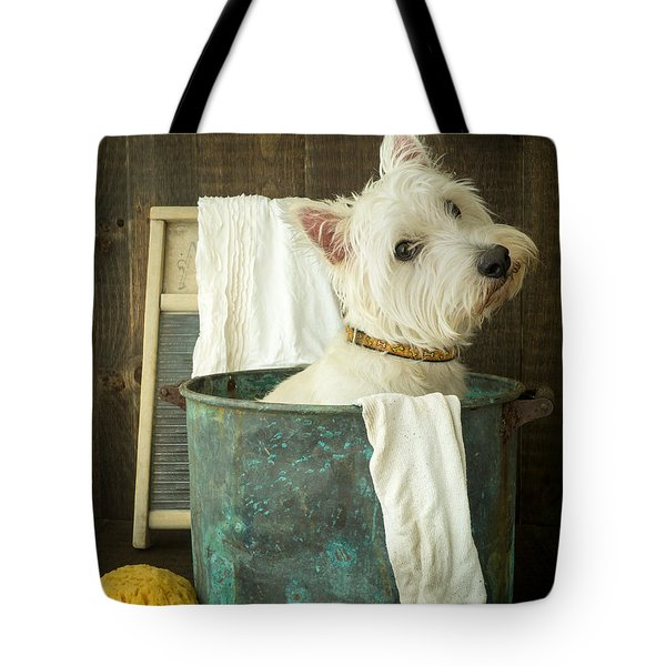 Wash Day Tote Bag by Edward Fielding