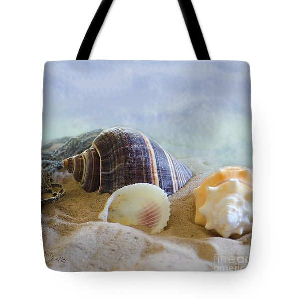 Washed Ashore Tote Bag by Betty LaRue