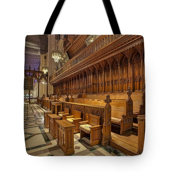 Washington National Cathedral Sanctuary Tote Bag by Susan Candelario