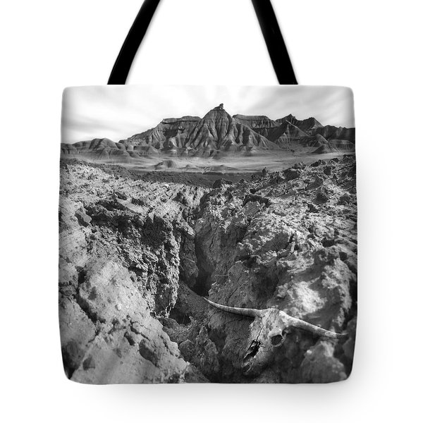 Wasteland Tote Bag by Mike McGlothlen