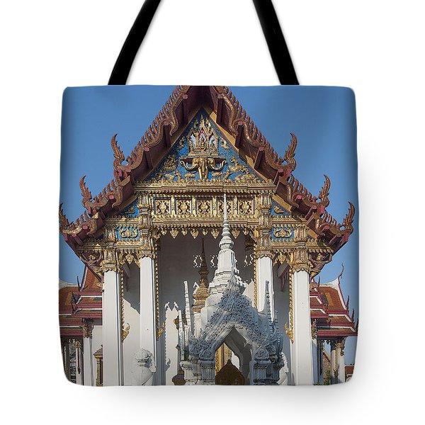 Wat Amarintaram Ubosot Dthb1507 Tote Bag by Gerry Gantt