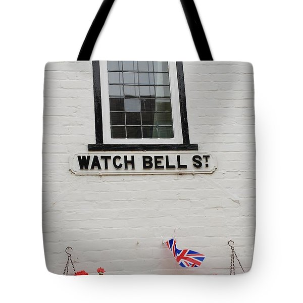 Watch Bell Street Rye Tote Bag by David Fowler