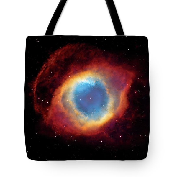 Watching - Helix Nebula Tote Bag by The  Vault - Jennifer Rondinelli Reilly