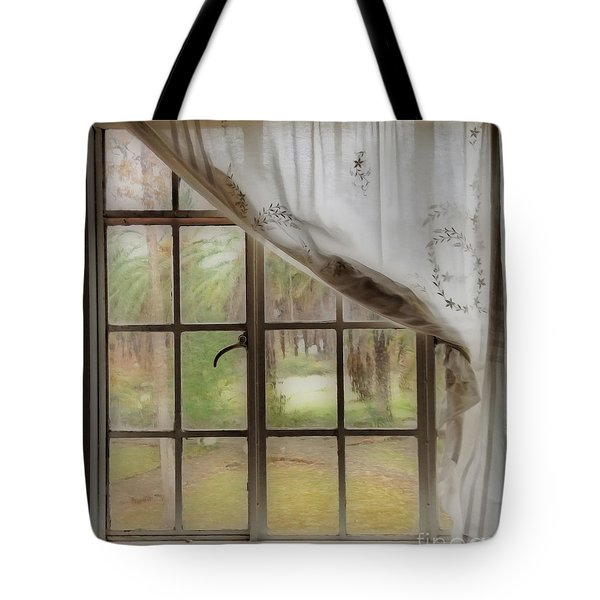 Watching The Rain Tote Bag by Cheryl Young