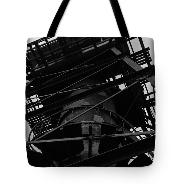 Watchtower Tote Bag by Jennifer Ancker