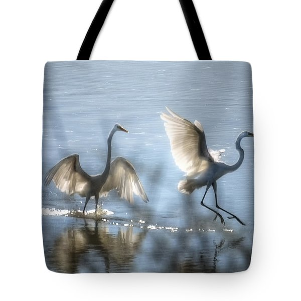 Water Ballet  Tote Bag by Saija  Lehtonen
